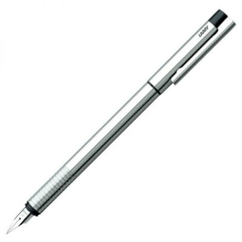 Lamy logo Fountain Pen Cyclical Matte Stainless Steel L05