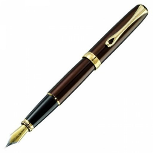 Diplomat Excellence A Fountain Pen Marakesh Gold Plated D20000678