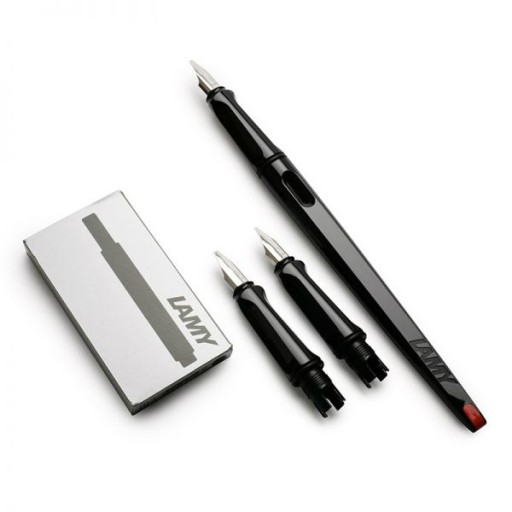 LAMY joy Calligraphy Fountain pen set Black 15427